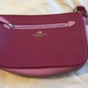 Coach Clutch with chain strap